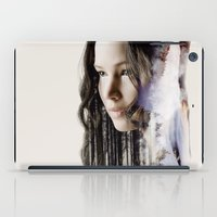katniss iPad Cases featuring katniss by phoebe-designs