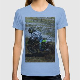 Round the Bend - Dirt-Bike Racing T-shirt