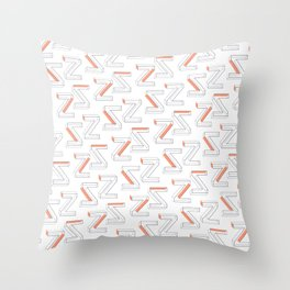 ZZ Throw Pillow