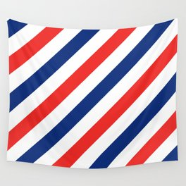 Barber Stripes Wall Tapestry