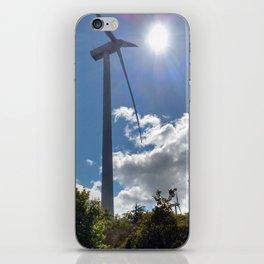 Wind Farm in the Sun iPhone Skin