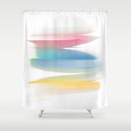 Abstraction artprint Shower Curtain