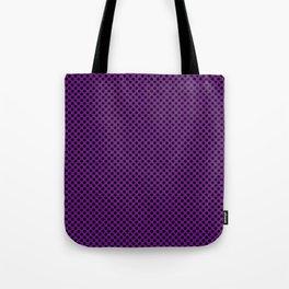 Winterberry and Black Polka Dots Tote Bag