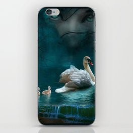 Your heart knows in silence iPhone Skin