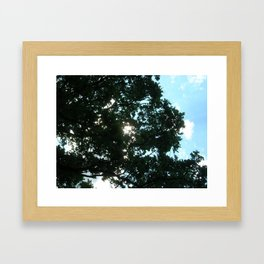 Rays of Light 2 Framed Art Print