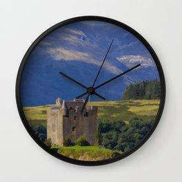 Castle Stalker Argyll, Scotland Wall Clock