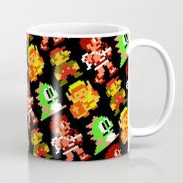 8-bit heroes (NES) | black | retrogaming nostalgia Coffee Mug