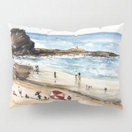 Rhodian shoreline Pillow Sham