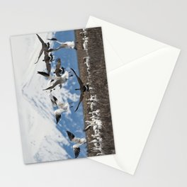 Scattering Geese Stationery Cards