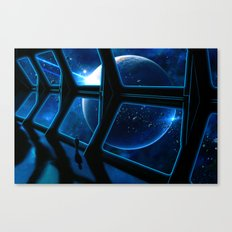 Space traveler Canvas Print