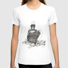 Knitted Ship T-shirt