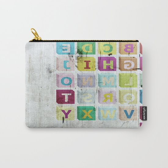 encrypted message Carry-All Pouch
