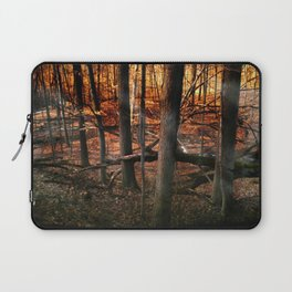 Sky Fire - surreal landscape photography Laptop Sleeve