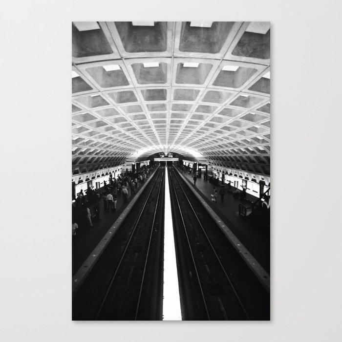 D.C. Metro Canvas Print