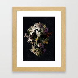 Spring Skull 2 Framed Art Print