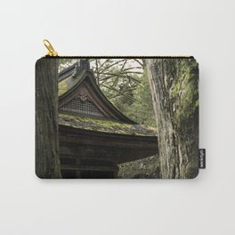 Shrine in Okunoin cemetery of Koyasan, Japan 001 Carry-All Pouch