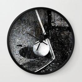 The golf club Wall Clock