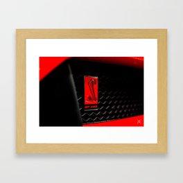 GT350R Framed Art Print