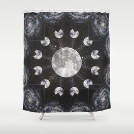 Full Moon Spell Shower Curtain