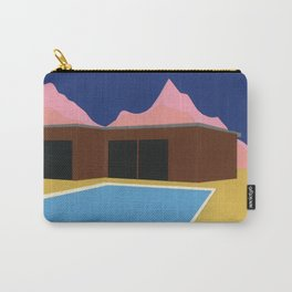 California Summer House Carry-All Pouch