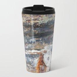 Flaky Blue Travel Mug