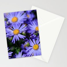 Purple Daisies Stationery Cards