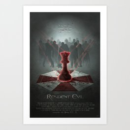 The Red Queen Art Print