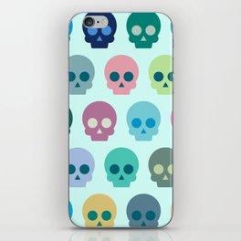 Colorful Skull Cute Pattern iPhone Skin