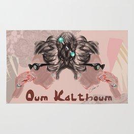 OUM KALTHOUM: VOICE OF EGYPT Rug
