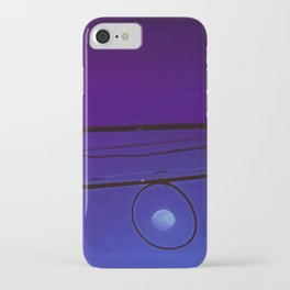Moonrise on the high wire iPhone Case