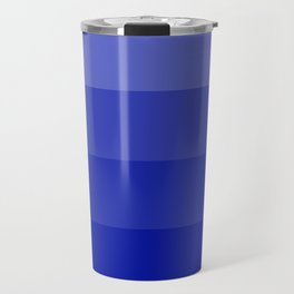 Four Shades of Blue Travel Mug
