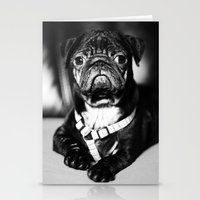 pug Stationery Cards featuring Pug by Falko Follert Art-FF77