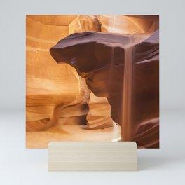ANTELOPE CANYON Pouring Sand Mini Art Print