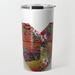 An Origami Valentine Heart Travel Mug