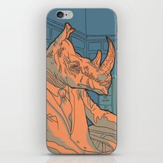Being a rhino like a sir iPhone & iPod Skin