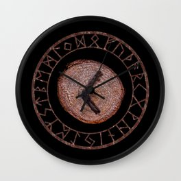Kenaz elder futhark rune Vision, revelation, knowledge, creativity, inspiration, technical ability. Wall Clock
