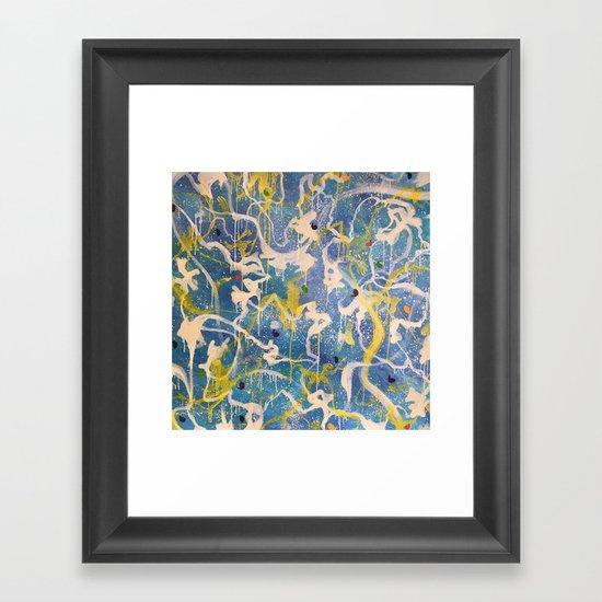 The Bunny Hop Framed Art Print