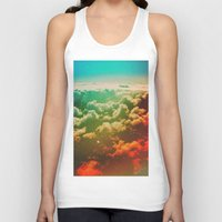 pilot Tank Tops featuring Pilot Jones by Daniel Montero