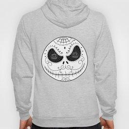Jack's Skull Sugar (Vector Mexican Skull) Hoody