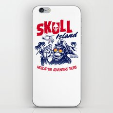 Skull Island Helicopter Adventure Tours iPhone & iPod Skin