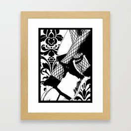 woman Framed Art Print