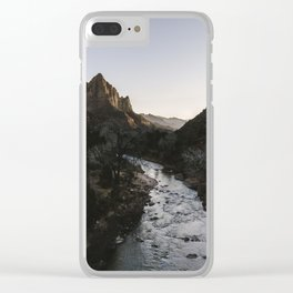 Zion River Clear iPhone Case