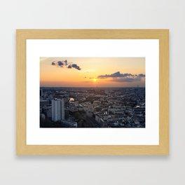 Berliner Sonne Framed Art Print