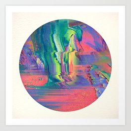 Psychotropic III Art Print