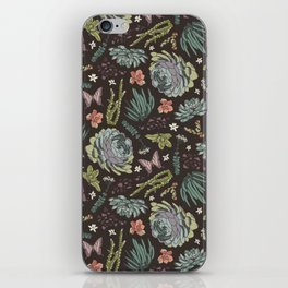 Cacti by Night iPhone Skin