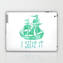 I Ship It - Watercolour Laptop & iPad Skin