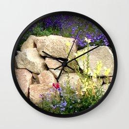 Rock Garden Wall Clock