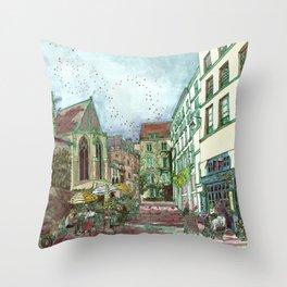 Parisia Throw Pillow