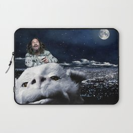 The Dude Rides Falcor Laptop Sleeve