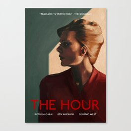 Bel Rowley (The Hour) Canvas Print